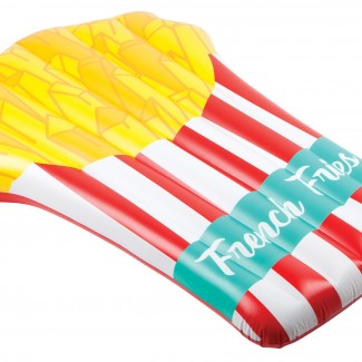 pumpt inflatable 'french fries' lie on
