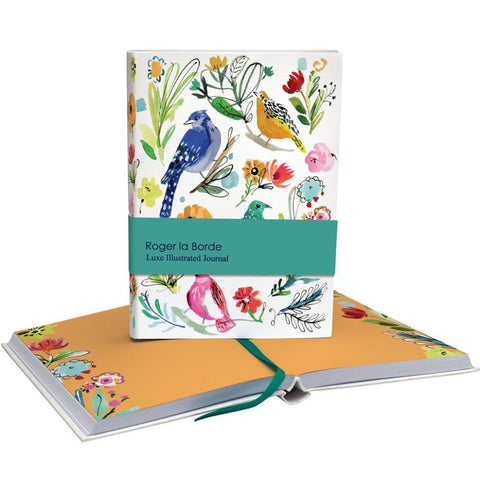 roger la borde chunky notebook 'birds' - the-tangerine-fox