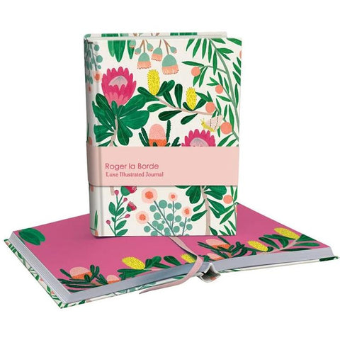 roger la borde chunky notebook 'native floral'
