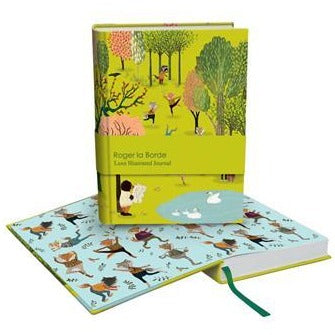 roger la borde chunky notebook 'yoga in the park'