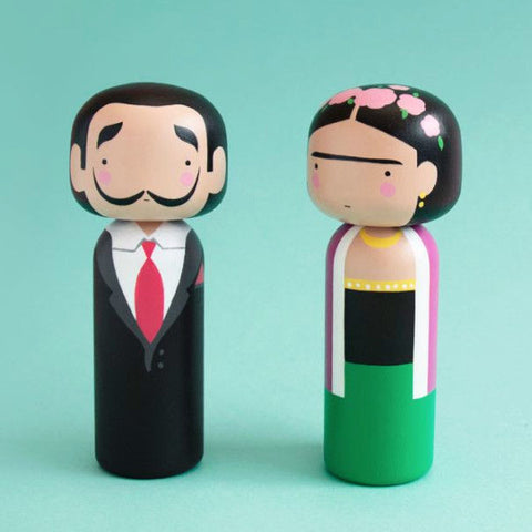 SKETCH INC. 'FRIDA KAHLO' KOKESHI DOLL