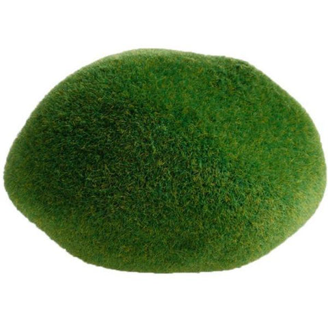 miniature 'grassy mound' faux moss pebble - the-tangerine-fox