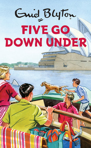 five go down under book