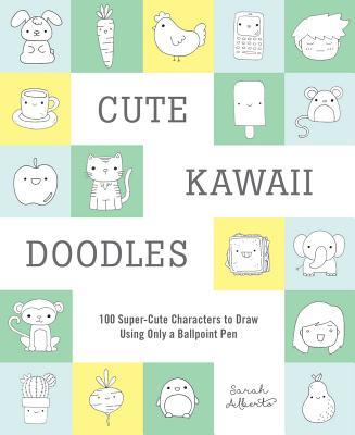 cute kawaii doodles book