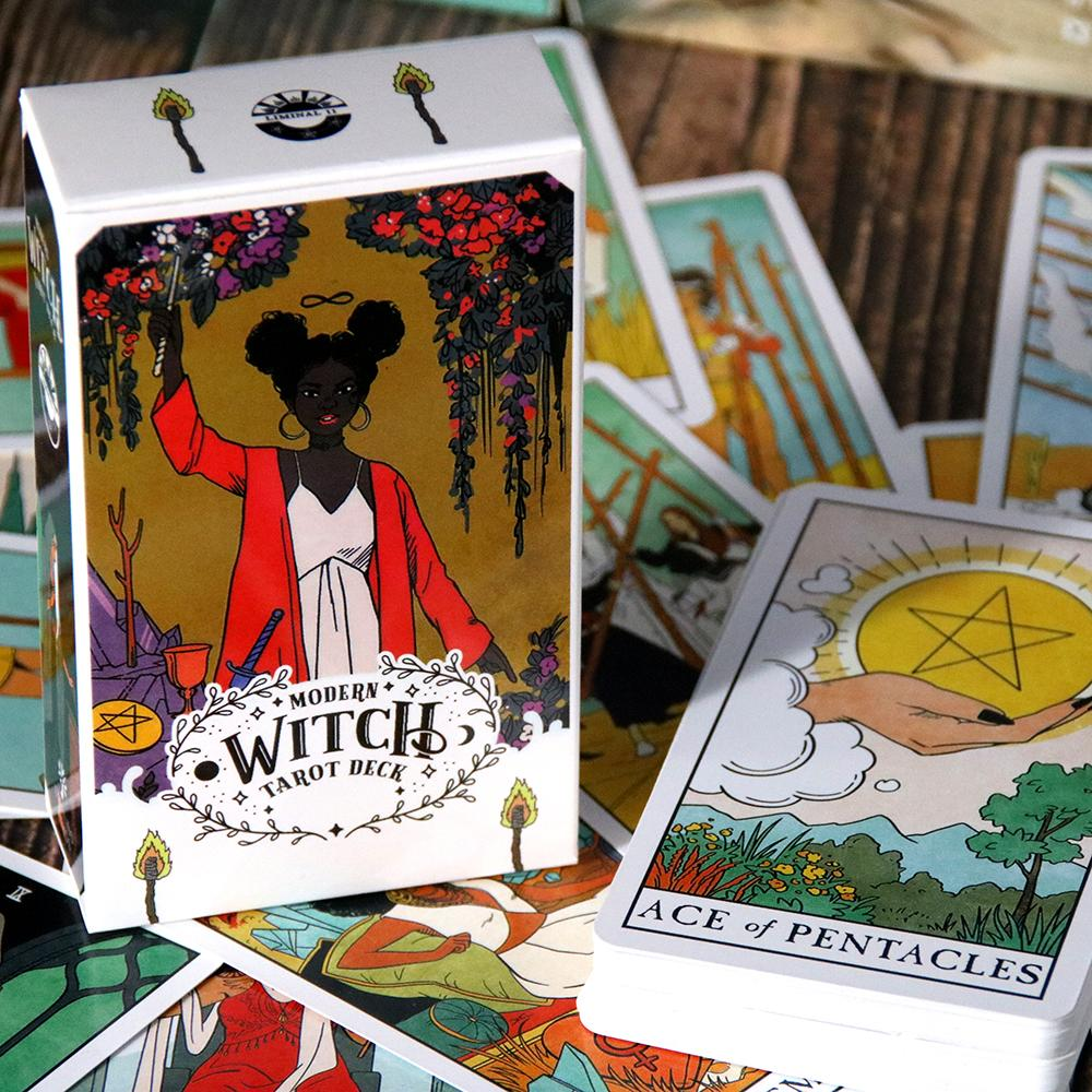 tarot cards 'modern witch deck'