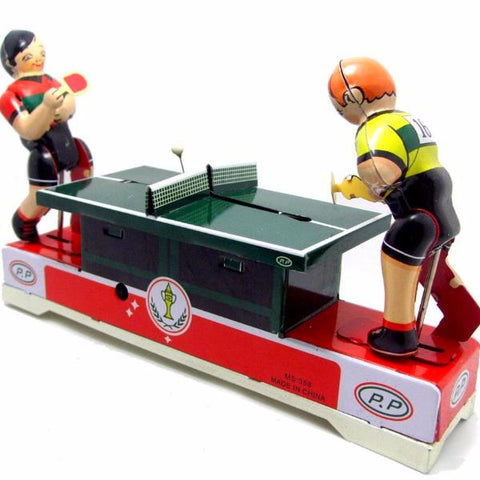 RETRO TIN TOY 'PING PONG PLAYERS'