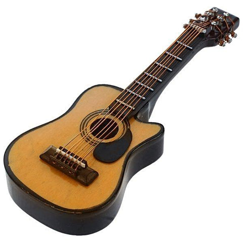 miniature 'acoustic guitar'