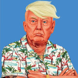 hipstory coaster 'donald trump' - the-tangerine-fox