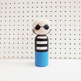 SKETCH INC. 'ANDY WARHOL' KOKESHI DOLL