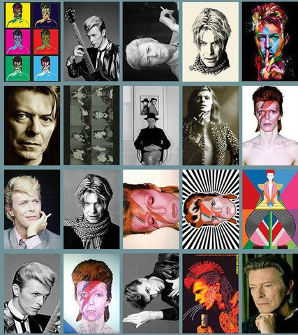 sticker pack 'david bowie'