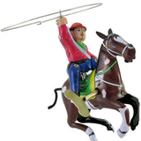 retro tin toy 'cowboy with lasso'