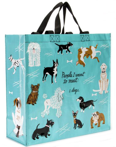 blue q shopper 'people i'd like to meet: dogs'