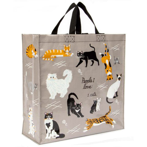 blue q shopper 'people i love: cats'