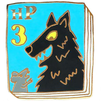 jane mount enamel pin 'harry potter book 3'