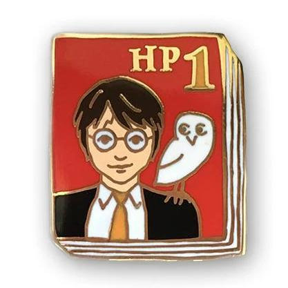 jane mount book pin 'hp 1 book 1'