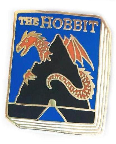 jane mount enamel pin 'the hobbit book'