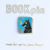 jane mount enamel pin 'hp book 3'