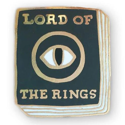 jane mount book pin 'lord of the rings'