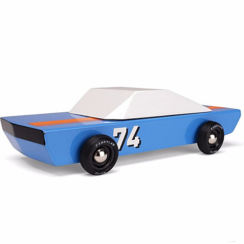 CANDYLAB 'BLU 74 RACER' TOY CAR