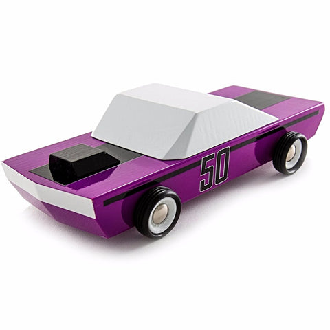 "CANDYLAB 'PLUM 50"" TOY CAR"