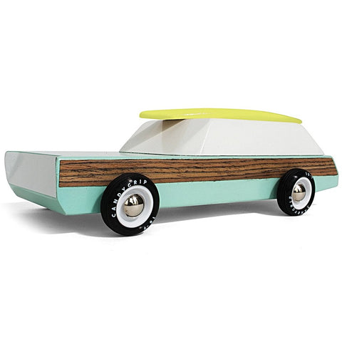 candylab toy car 'woody redux'