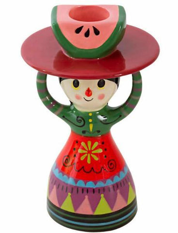 kitsch kitchen candle holder 'mexicana'