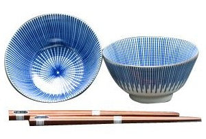 concept japan 2 bowl set 'yagurama togusa'
