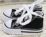 miniature 'converse shoes' black