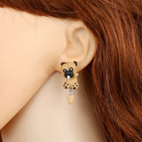sugar earrings polymer clay 'dangly pug' - the-tangerine-fox