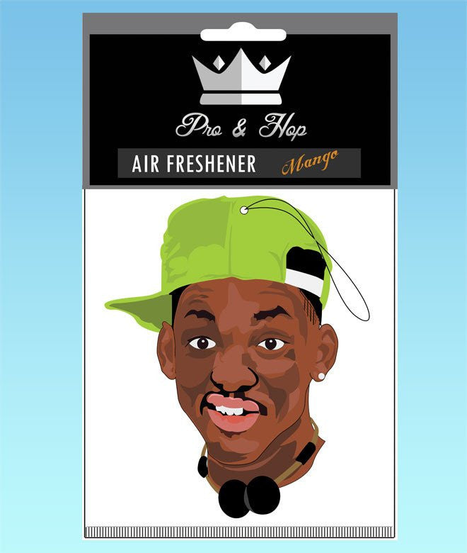 pro and hop air freshener 'fresh prince' - the-tangerine-fox