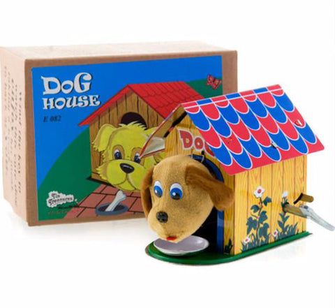 RETRO TIN TOY 'DOG HOUSE'