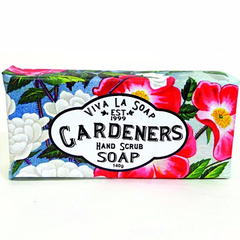 viva la body soap bar 'gardener's hand scrub'