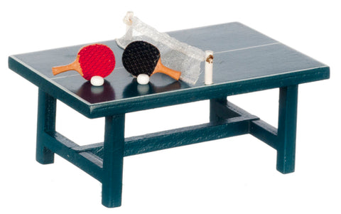 miniature 'ping pong table' set