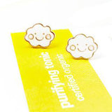 sugar earrings 'kawaii cloud' studs