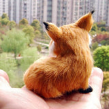 figurine 'sitting fox'