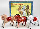 retro tin toy 'prancing circus horse'