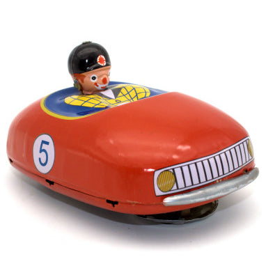 retro tin toy 'bumper car' - the-tangerine-fox