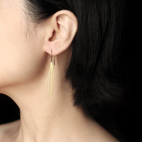 moorigin earrings 'breeze' gold small