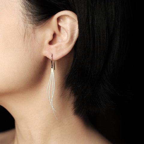 moorigin earrings 'breeze' silver small