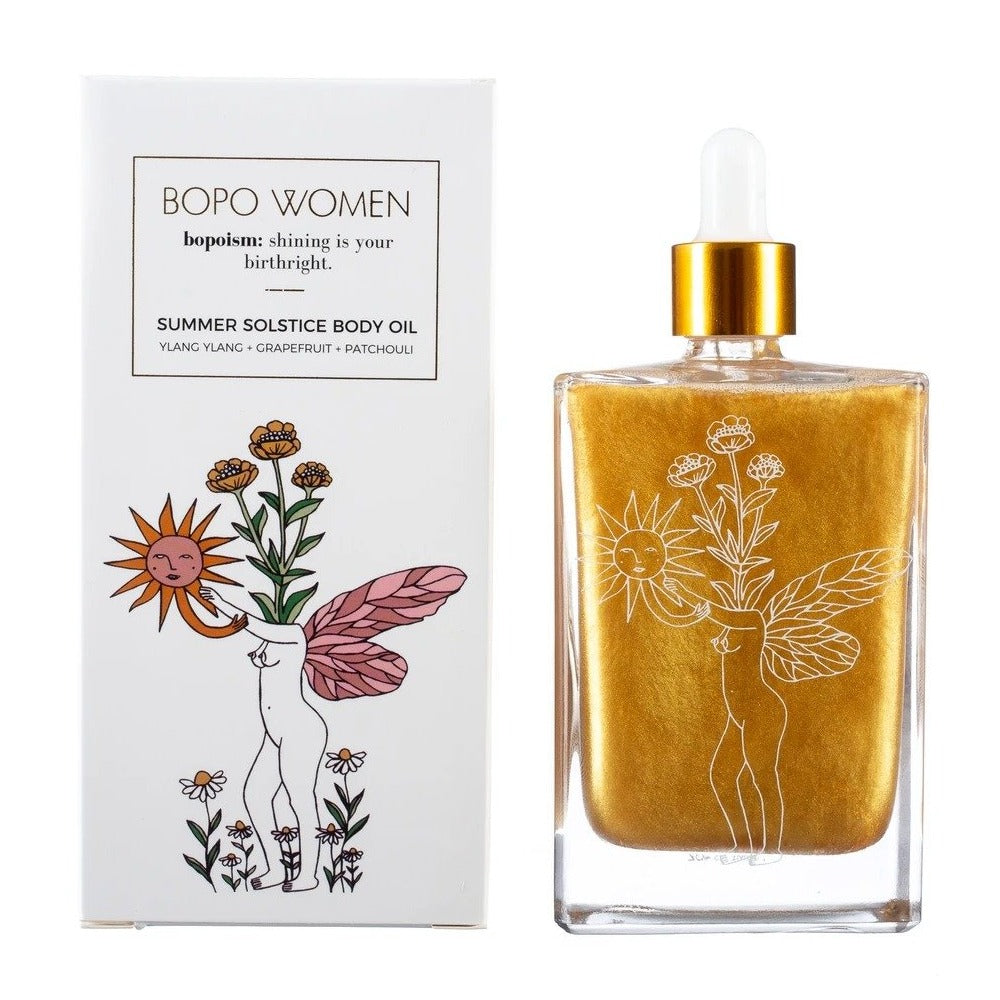 bopo women 'body oil' summer solstice