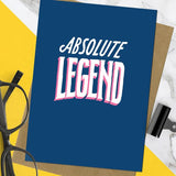 unknown ink greeting card 'absolute legend'