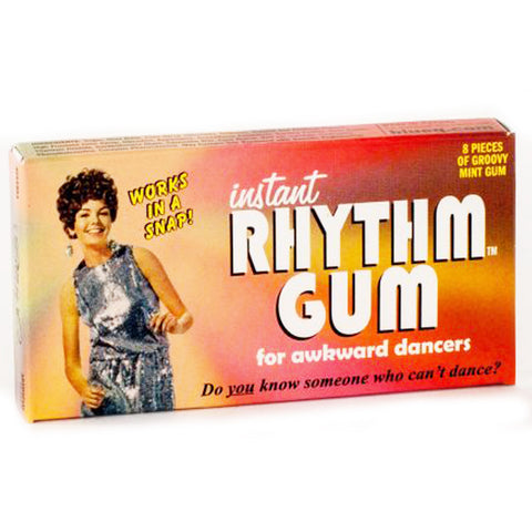 BLUE Q CHEWING GUM 'INSTANT RHYTHM'