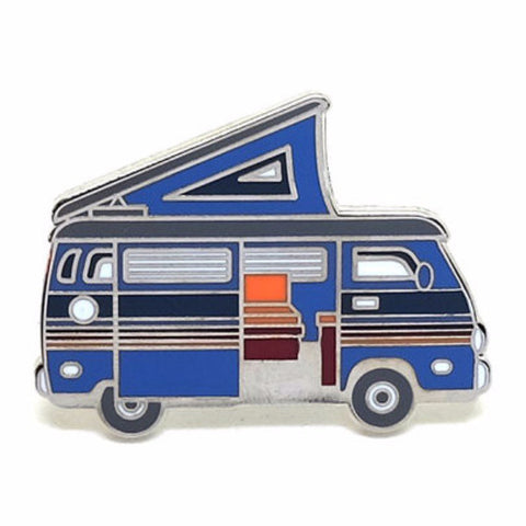 lost lust supply enamel pin 'squeaky van'