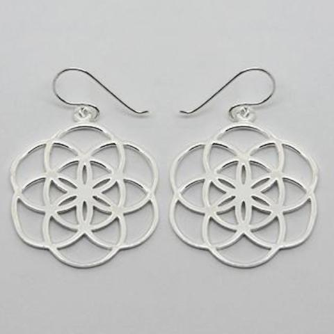 gammies earrings 'flower of life' drops