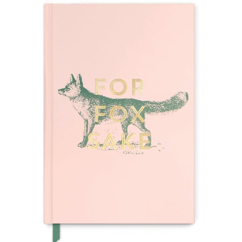 designworks ink. notebook vintage sass 'for fox sake' medium