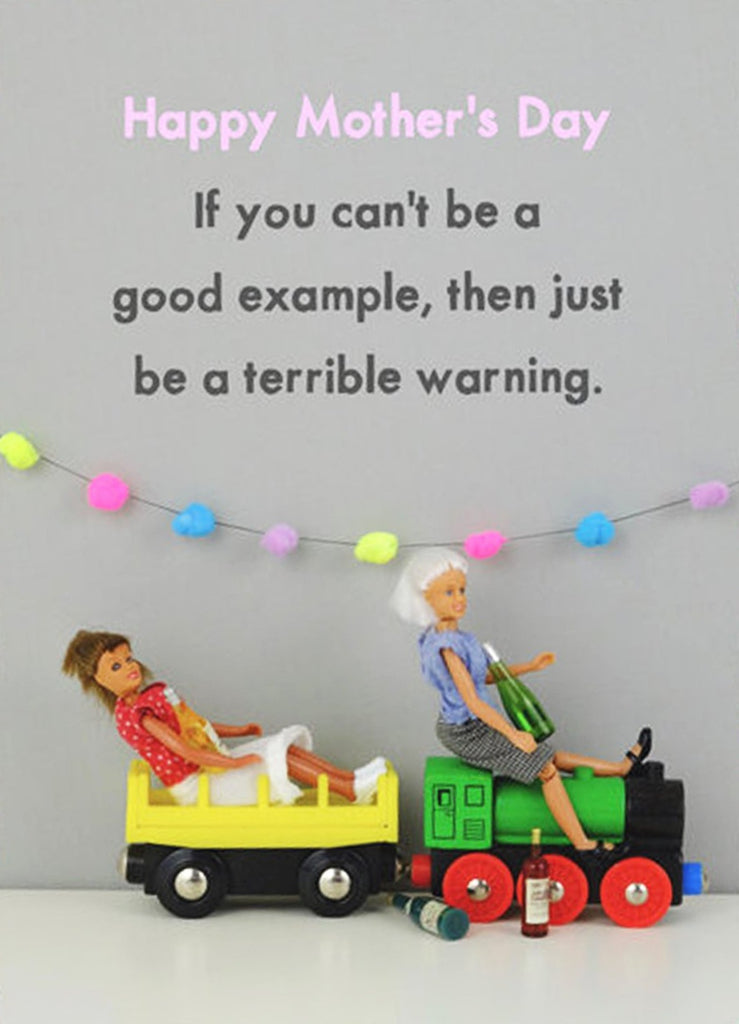 jeffrey & janice greeting card 'terrible warning'
