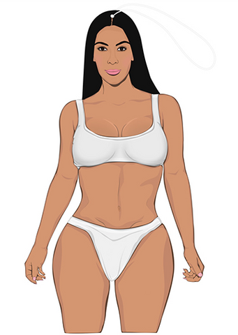 PRO AND HOP AIR FRESHENER 'KIM BODY'