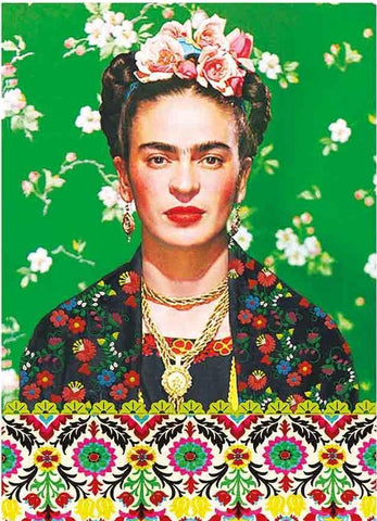 kitsch kitchen notebook 'frida khalo'