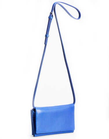 elk bag 'strupen' bright blue