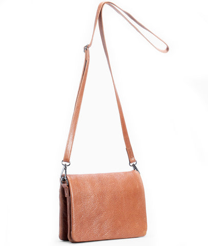 elk bag 'innset' tan - the-tangerine-fox